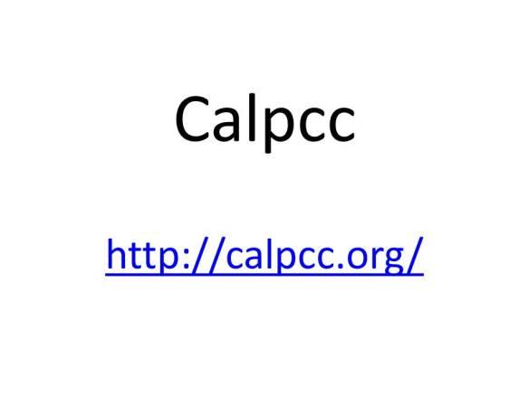 CALPCC