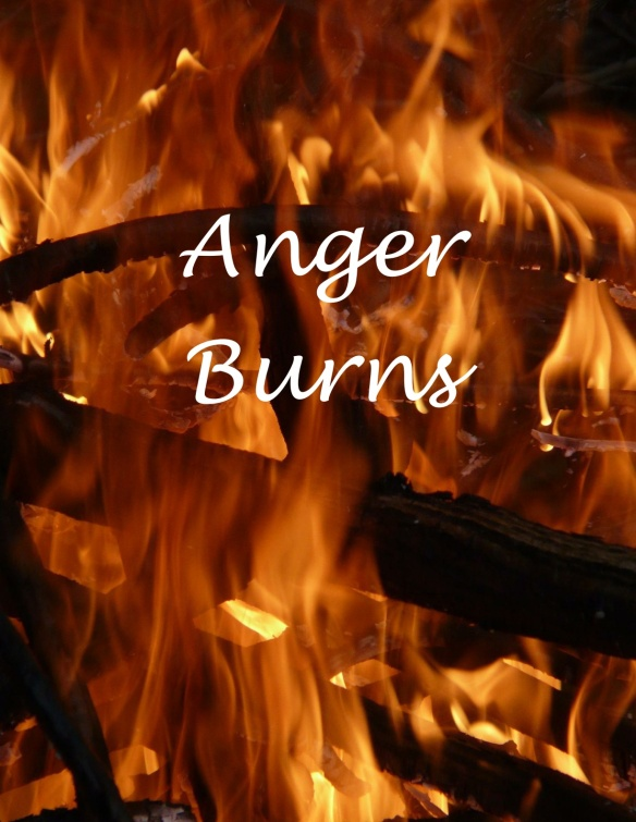Anger burning
