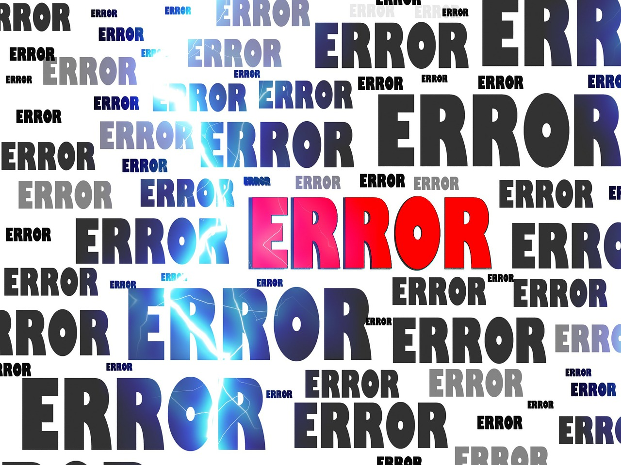 Mistakes and errors