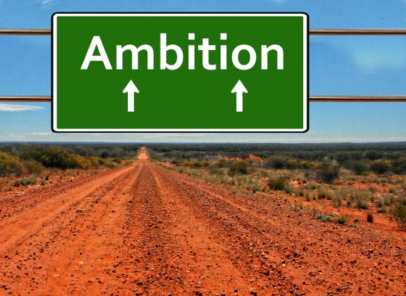 Ambition sign.