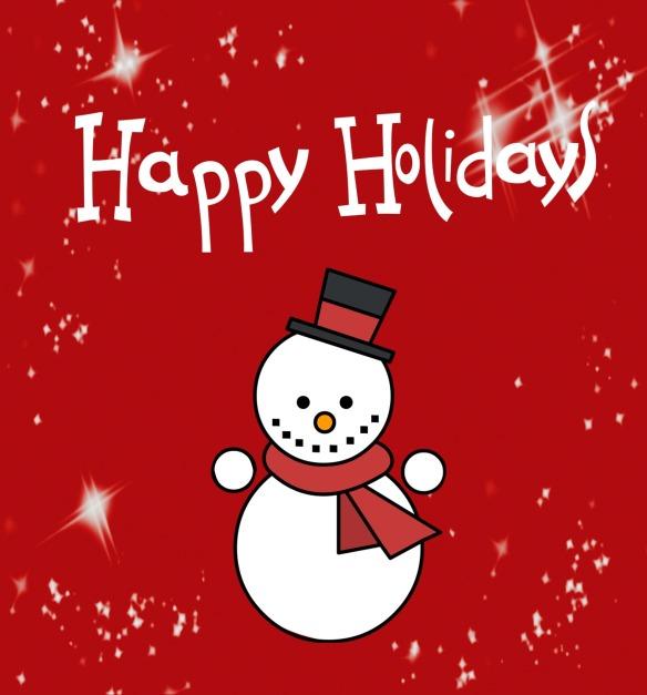 Happy Holidays. Photo courtesy of Pixabay.com