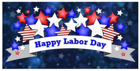 Labor Day sign