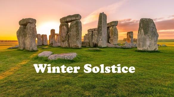 Sunrise at Stonehenge.