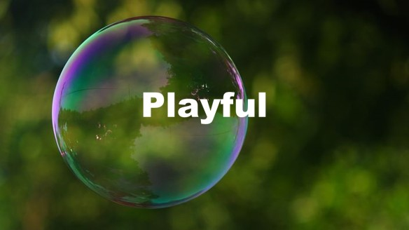 Play with a Bubble