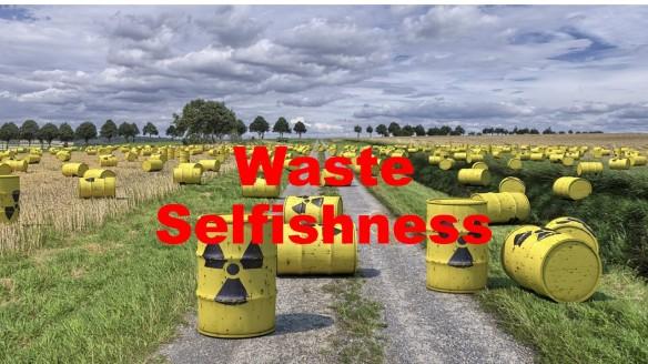 Waste dump.
