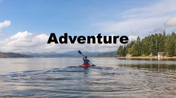 Adventurous man