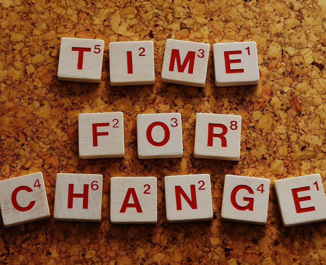 Need to change