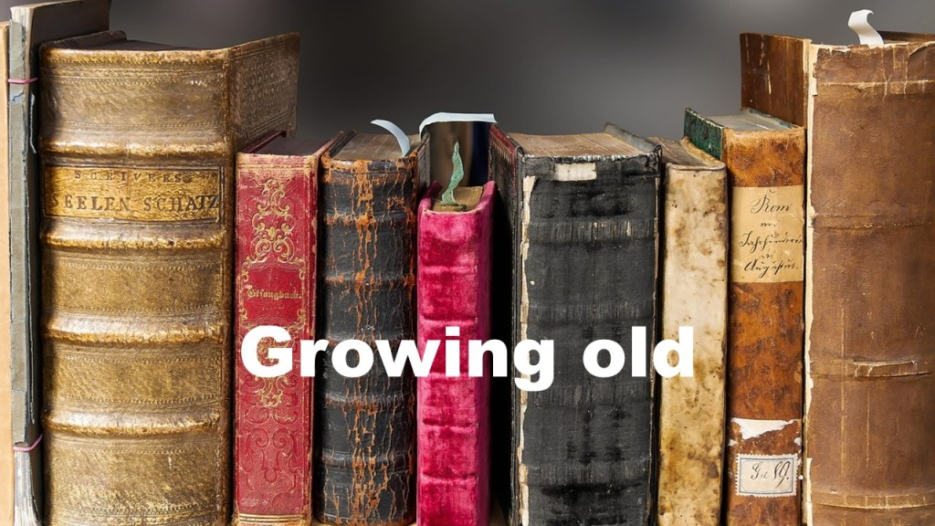 Growing old picture of books